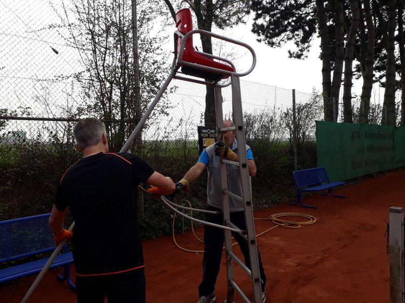 Baesweiler Tennis Club Ev Ab Ins Beet